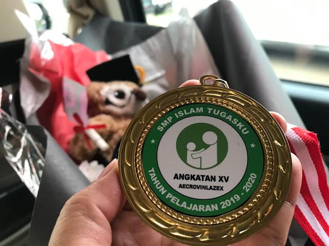 Drive-In Graduation at SMP Islam Tugasku, Jakarta