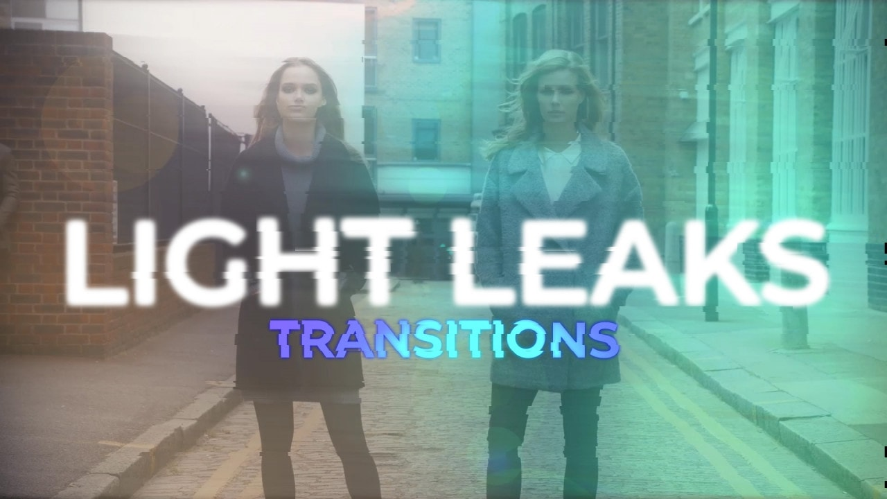 Light Leaks Transitions - Premiere Pro Presets | Motionarray 187710
