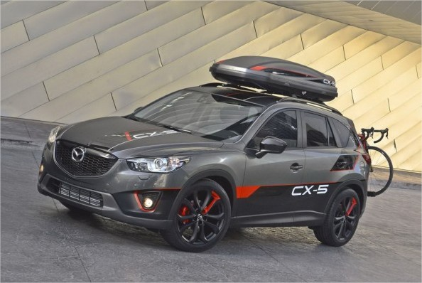 mazda cx 5 concept modification and stylish urban adventurer world automotive. Black Bedroom Furniture Sets. Home Design Ideas
