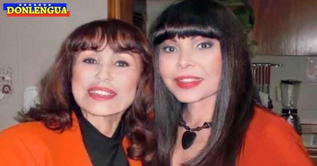 Falleció la hermana de Lila Morillo con las complicaciones respiratorias