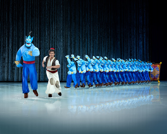 DISNEY ON ICE - 100 YEARS OF MAGIC - ALADDIN