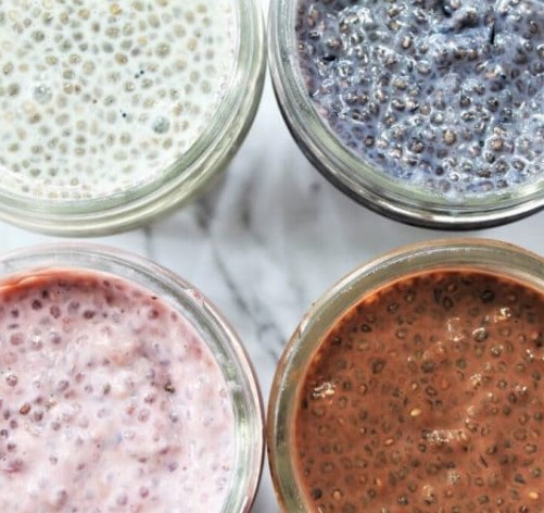 Easy Chia Seed Pudding – Breakfast Meal Prep #healthydiet #glutenfree