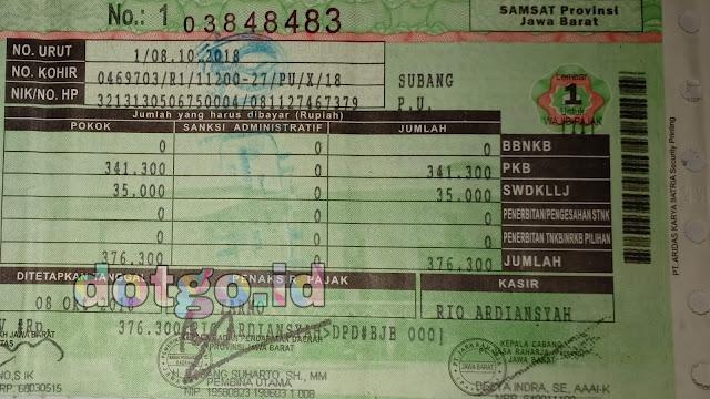 Samsat keliling subang jadwal layanan pajak kendaraan mobil samsat subang jawa barat