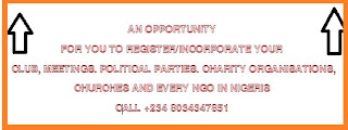 HOW DO I REGISTER OUR SOCIAL CLUB WITH C.A.C IN NIGERIA/ CRITERIA FOR CLUB REGISTRATION IN NIGERIA