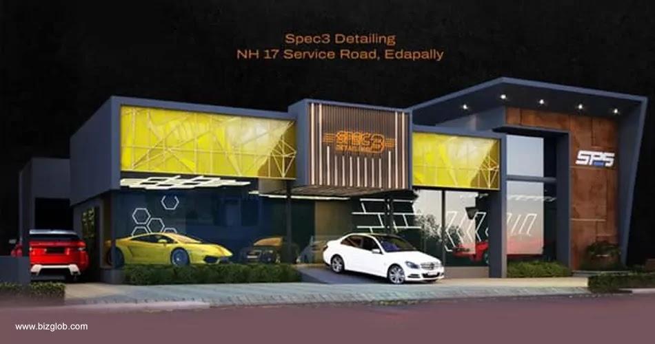 Spec 3 Detailing, Showroom, Edappally, Ernakulam