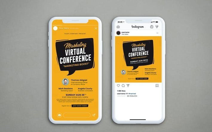Virtual Conference (AI, PSD)