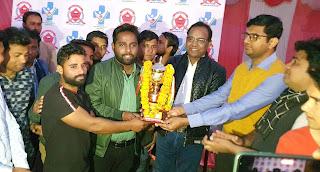 क्रिकेट टूर्नामेंट में यूबीएस की टीम रही विजेता | #NayaSaberaNetwork
