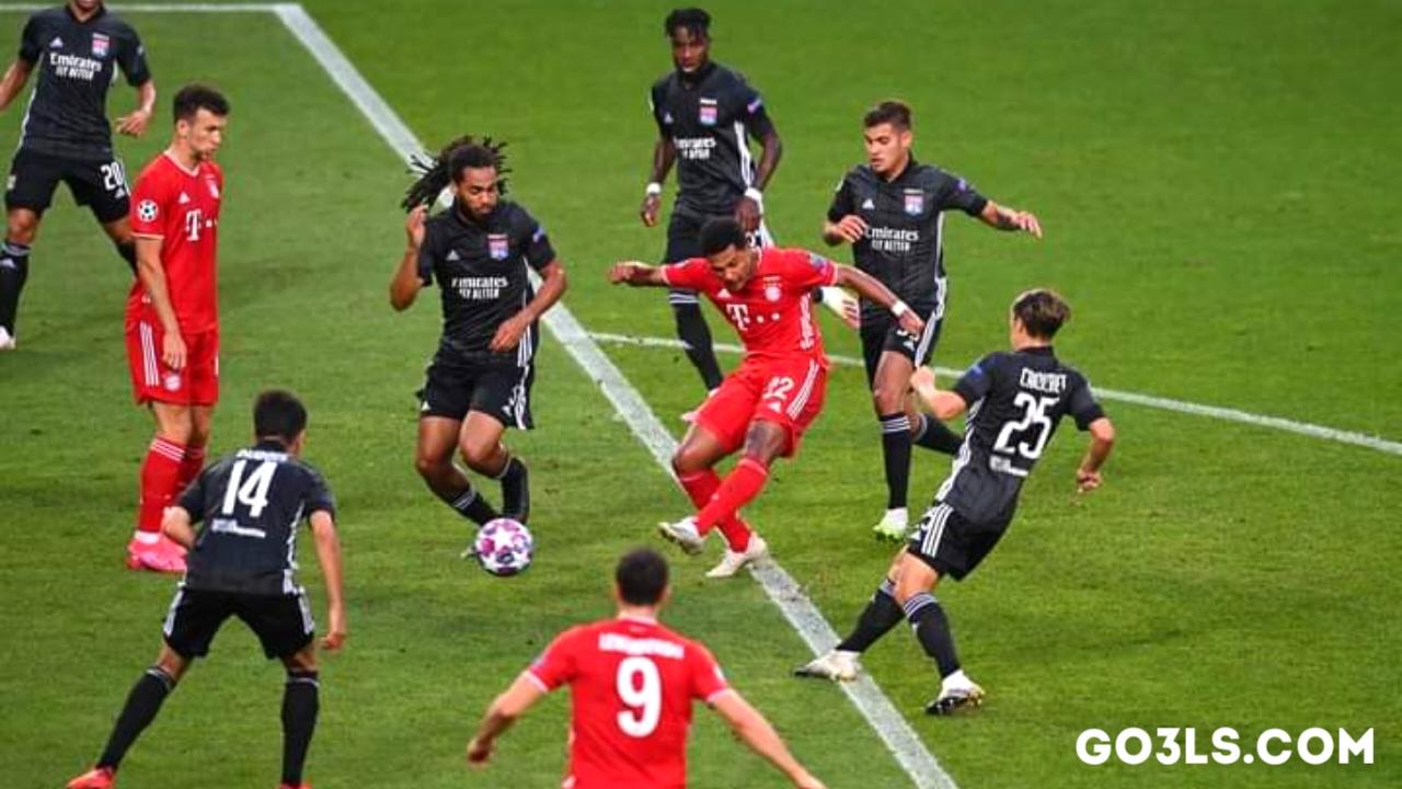 اهداف مباراة بايرن ميونيخ وليون