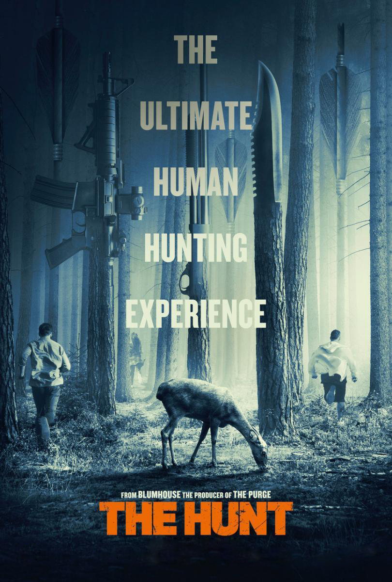 The Hunt [2020] [CUSTOM HD] [DVDR] [NTSC] [Latino]