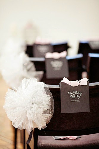 Tulle Wedding Decorations