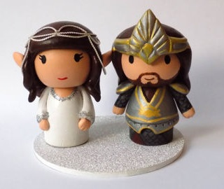 Best Lord of the Rings Wedding Cake Topper