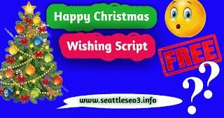 Christmas Wishing Script