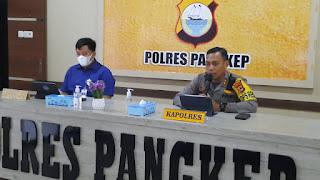Kapolres Pangkep Pimpin Rapat koordinasi Percepatan Pembangunan Rel Kereta Api