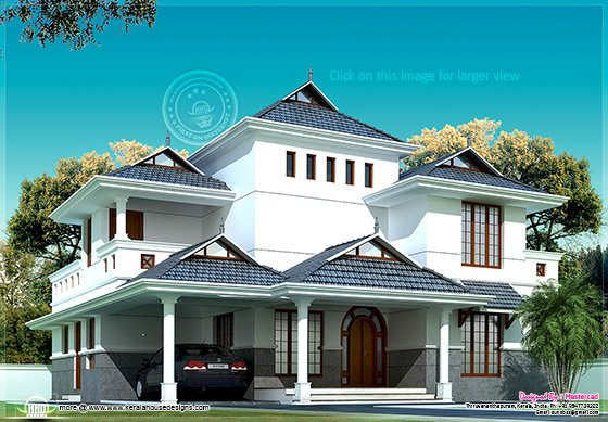 Kerala model villa