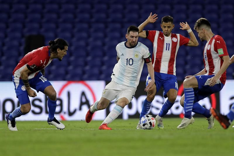 موعد مباراة الأرجنتين وباراغواي اليوم