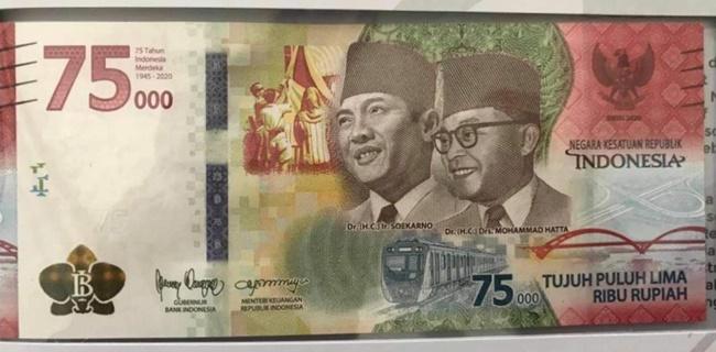Ada Ratangga Di Uang Khusus Kemerdekaan, PT MRT Sumringah