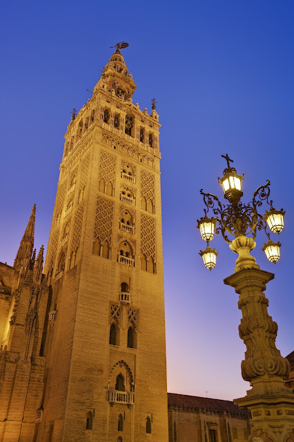 Giralda, a bell tower to see in Seville, Spain