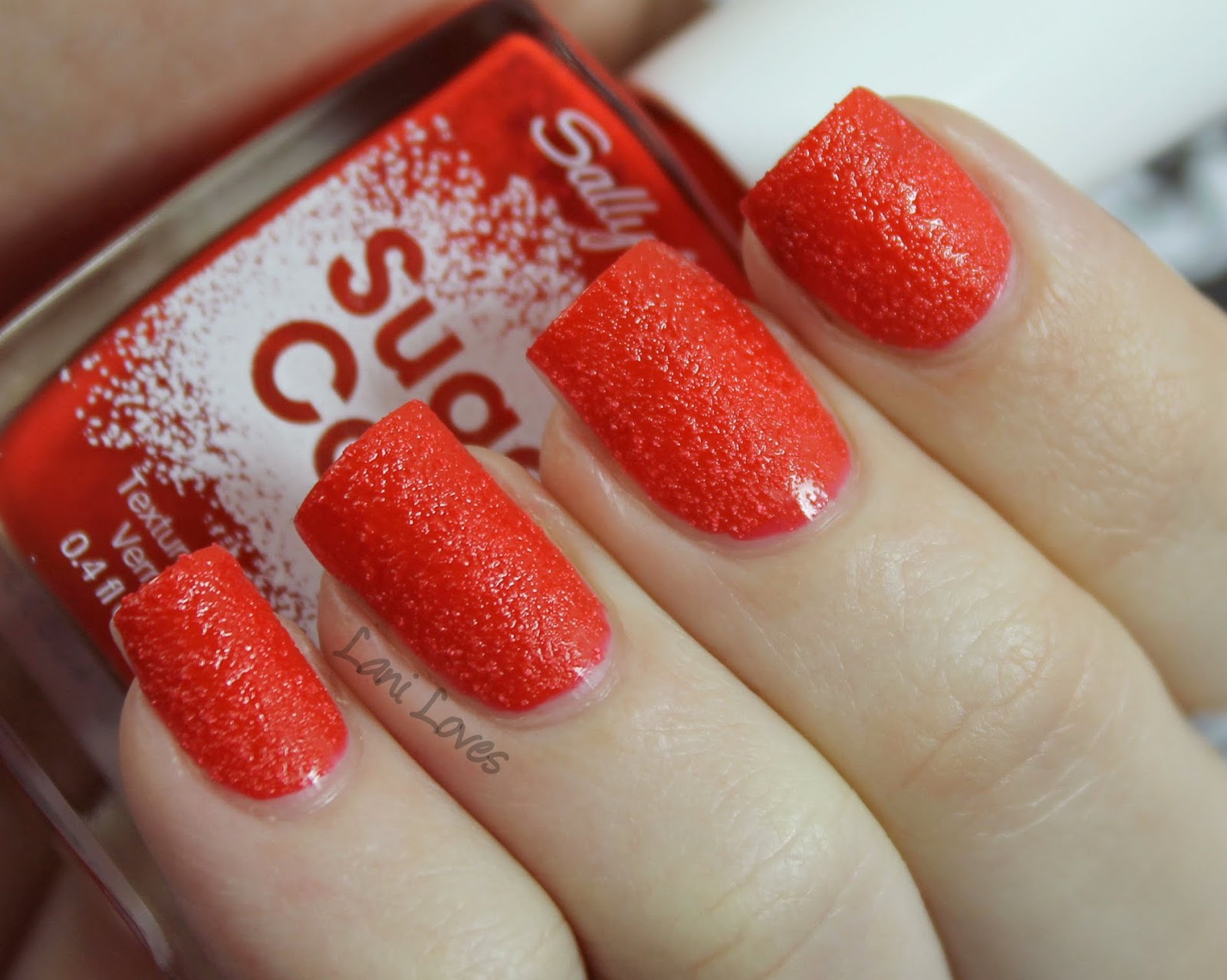 Sally Hansen Sugar Coat Cherry Drop Swatch