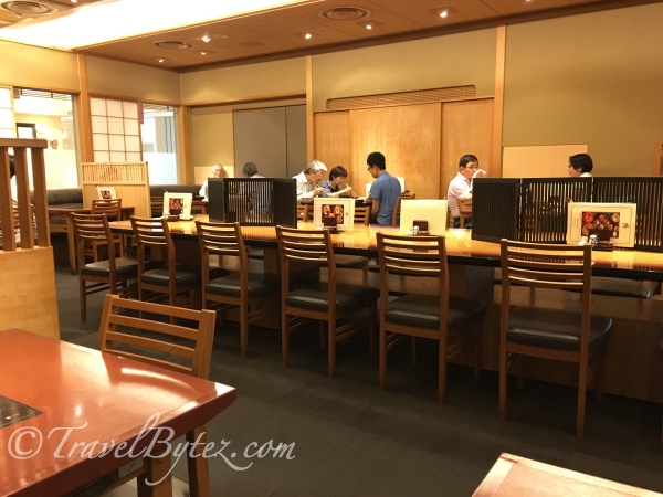 Dinner at Eat Paradise in Isetan (Kyoto Station)