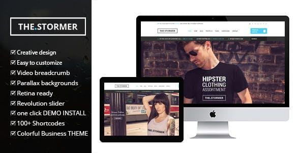 Fashion Stormer v2.0 - Chủ đề thời trang thương mại điện tử