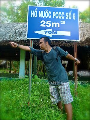 foto di lokasi cuchi tunnel, Vietnam