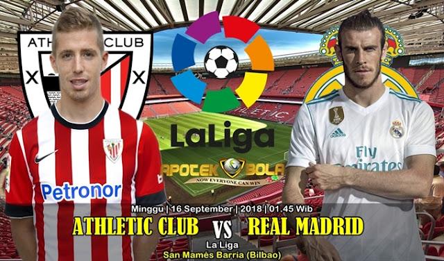 Prediksi Athletic Club Vs Real Madrid 15 September 2018
