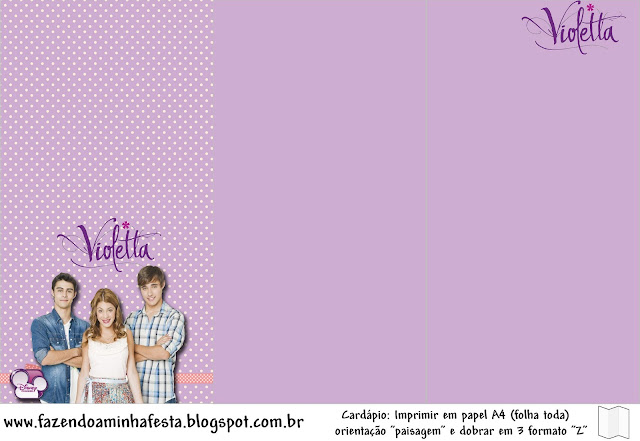 Violetta free party printables oh my fiesta in english you stopboris Gallery