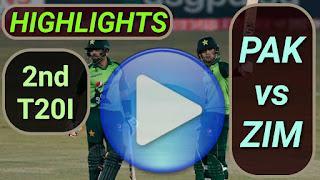 PAK vs ZIM 2nd T20I 2020