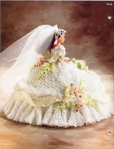 Vestidos de noiva para Barbie - Bridal dresses for barbie dolls - Para inspirar nossas criações 10
