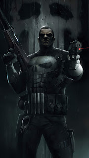 The Punisher Man Mobile HD Wallpaper