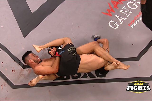 Brandon Royval Submits Joby Sanchez In Round 1