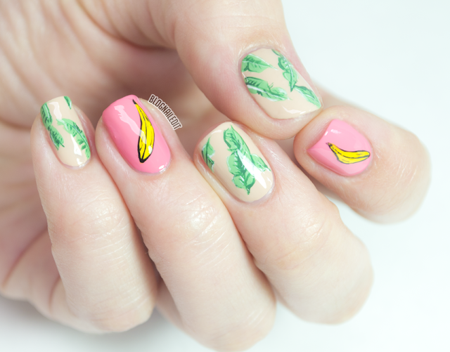 B-A-N-A-N-A-S for Nails by Nailed It @ www.blognailedit.co