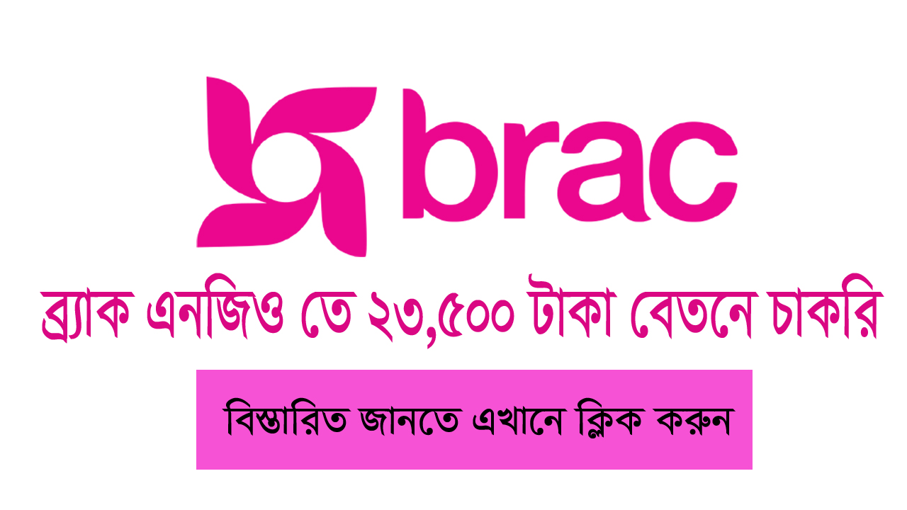 Brack NGO Job Circular 2019 | Apply Now