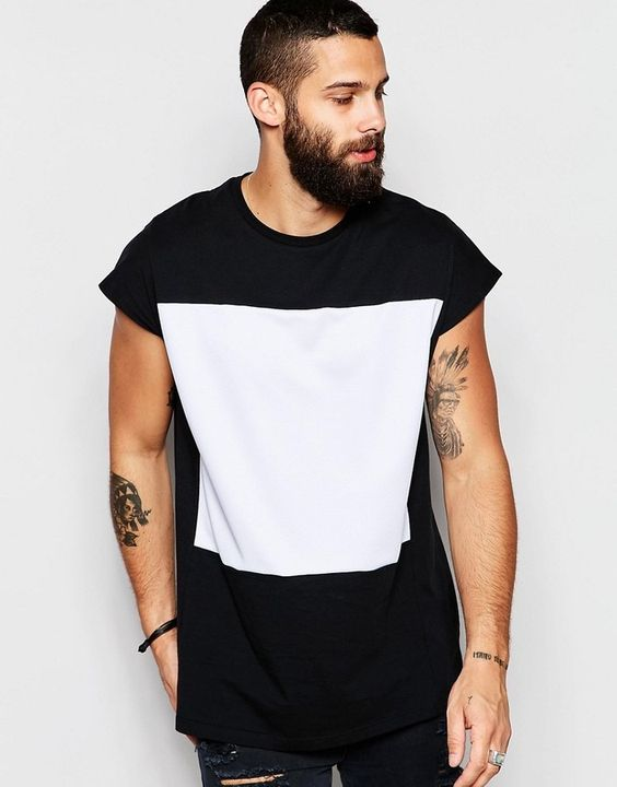 camiseta Sleeveless Masculina look