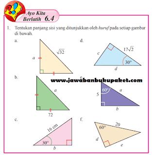 Ayo Kita Berlatih 6.4 Matematika Kelas 8 Semester 2 www.jawabanbukupaket.com