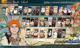 Naruto Senki Mod Sasuke's Back to the War Apk