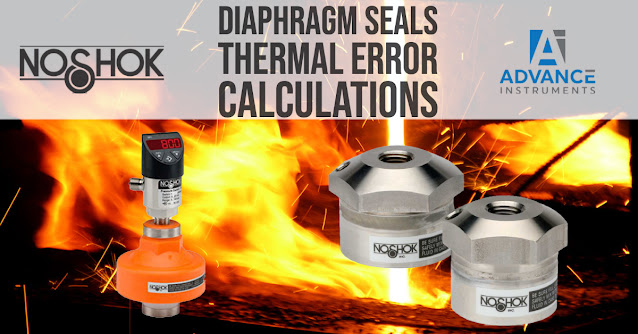 Diaphragm Seals Thermal Error Calculations