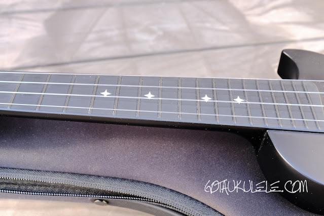 Enya Nova U Mini Soprano Ukulele neck
