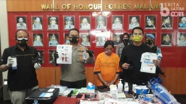 Modus Ibu Muda Asal Palembang, Raup Rp 1,4 Miliar Tipu Puluhan Warga Malang