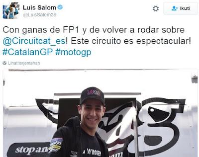 Ini Tweet Terakhir Salom Sebelum Meninggal Dunia di Catalunya