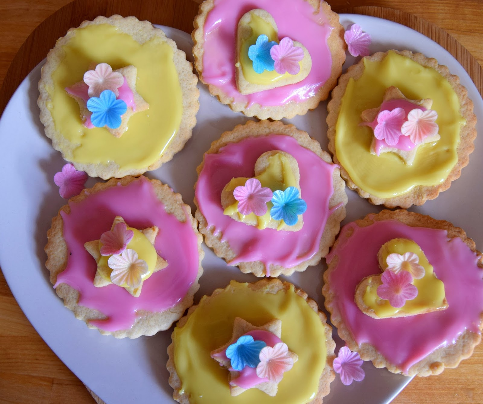Easy Stars And Hearts Biscuits: Baking With Kids