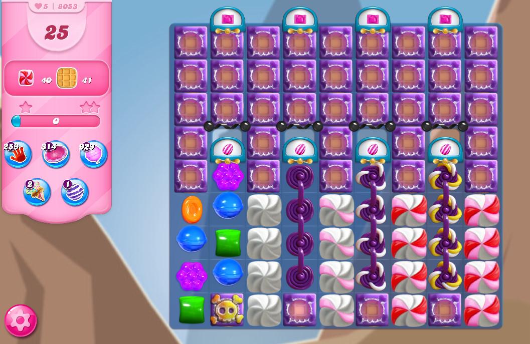 Candy Crush Saga level 8053