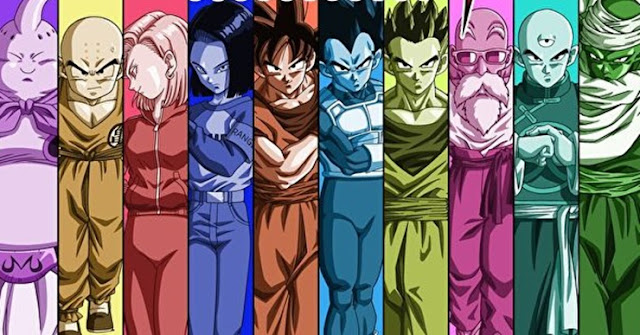 Dragon Ball Super Universe Survivor Goku Vegeta Majin Buu 17 18 Piccolo Gohan Kulilin Tenshihan Kame