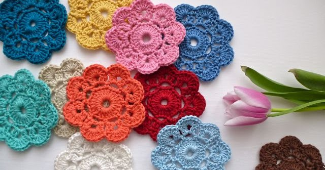 My Rose Valley The Maybelle Crochet Flower