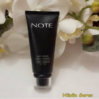 Note Luminous Mousturizing Foundation