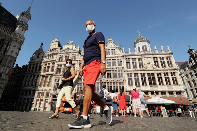 Belgium's coronavirus death toll crosses 10,000