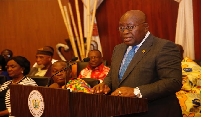 """""""Creation Of 6 New Regions In The Hands Of EC & Ghanaians"""" – President Akufo-Addo"""