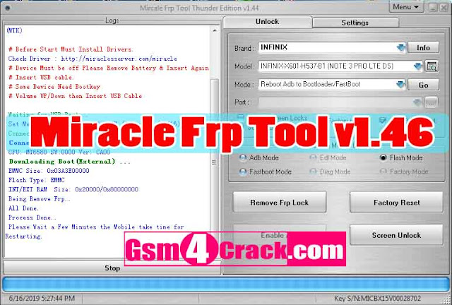Download Miracle Frp Tool v1.46