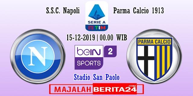 Prediksi Napoli vs Parma — 15 Desember 2019