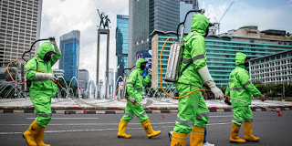Seluruh Provinsi di indonesia Sudah Terpapar Covid-19